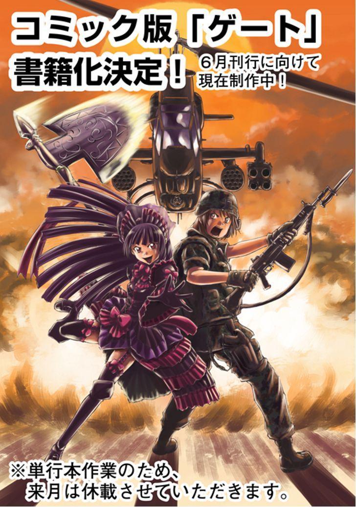 Gate – Jietai Kare no Chi nite, Kaku Tatakeri chap 10 Trang 28 - Mangak.info