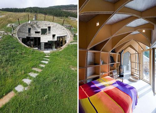 Livin sponge villa vals in switzerland for K architecture geneve