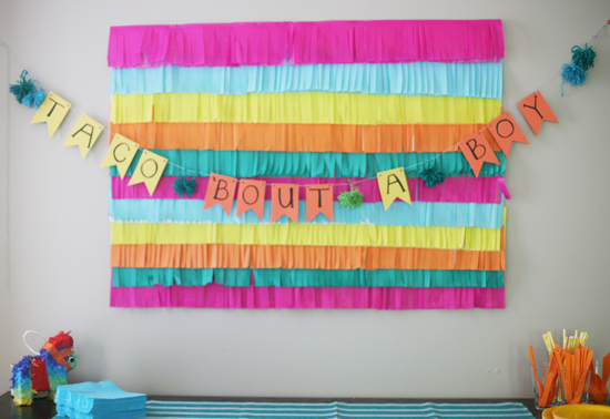 amanda threw this awesome fiesta themed baby shower yesterday for a