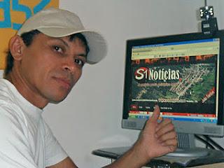 Blogueiro Cauê Rodrigues é assaltado em pela luz do dia no centro de Carnaíba