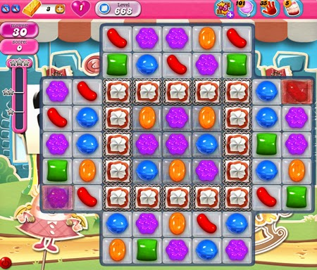 Candy Crush Saga 668