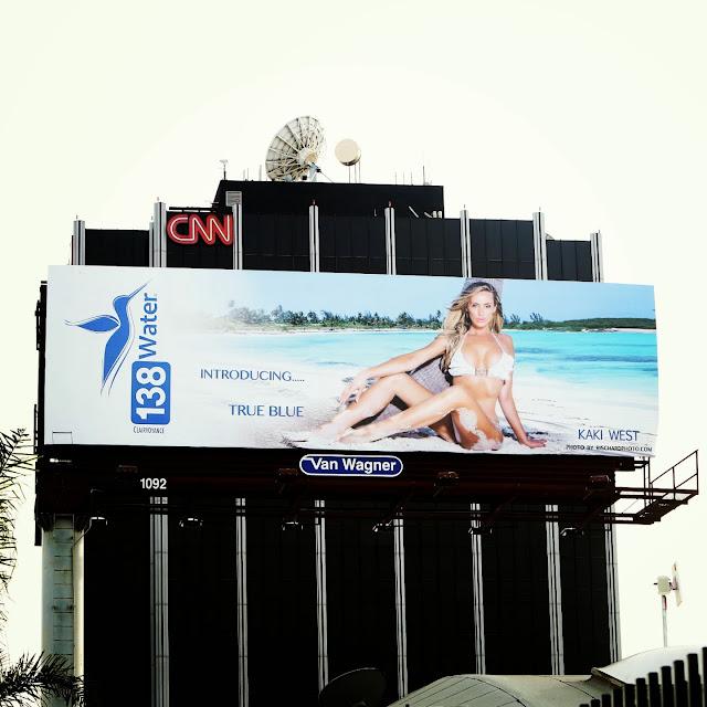 Kaki West 138 water Billboard
