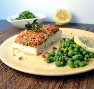 Parmesan Pesto Halibut Recipe