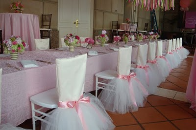 Tutu Chair Covers by Bella Flora of Dallas