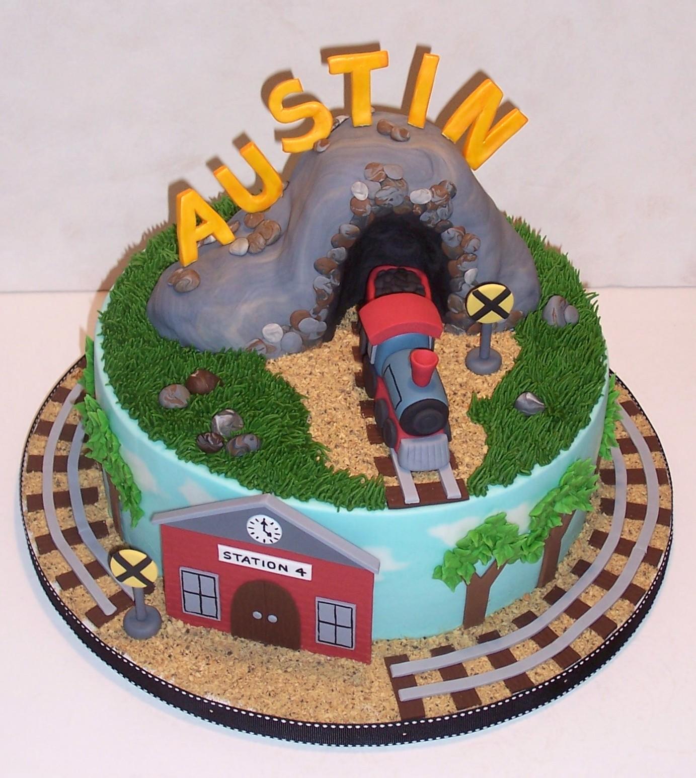 Free Cake Info Birthday Train No 4
