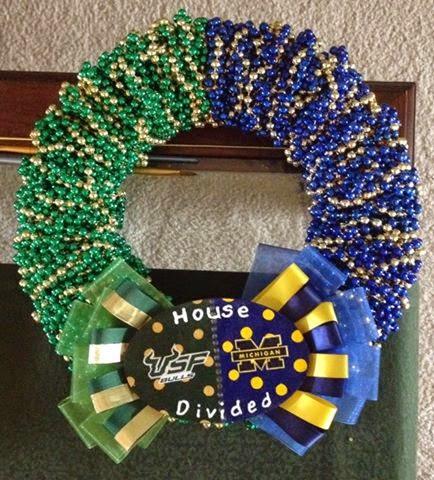 Making a custom wreath