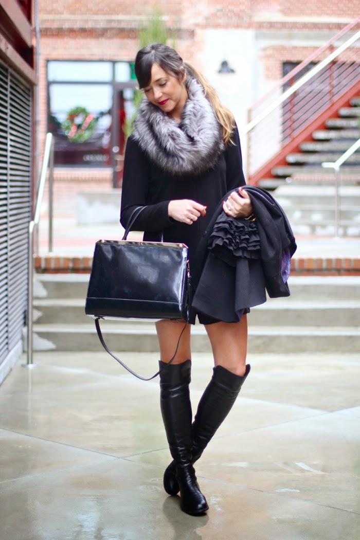 Michael Kors Boots With Fur Fur Snood Michael Kors