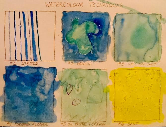 Art Intertwine - Watercolor Techniques For Kids