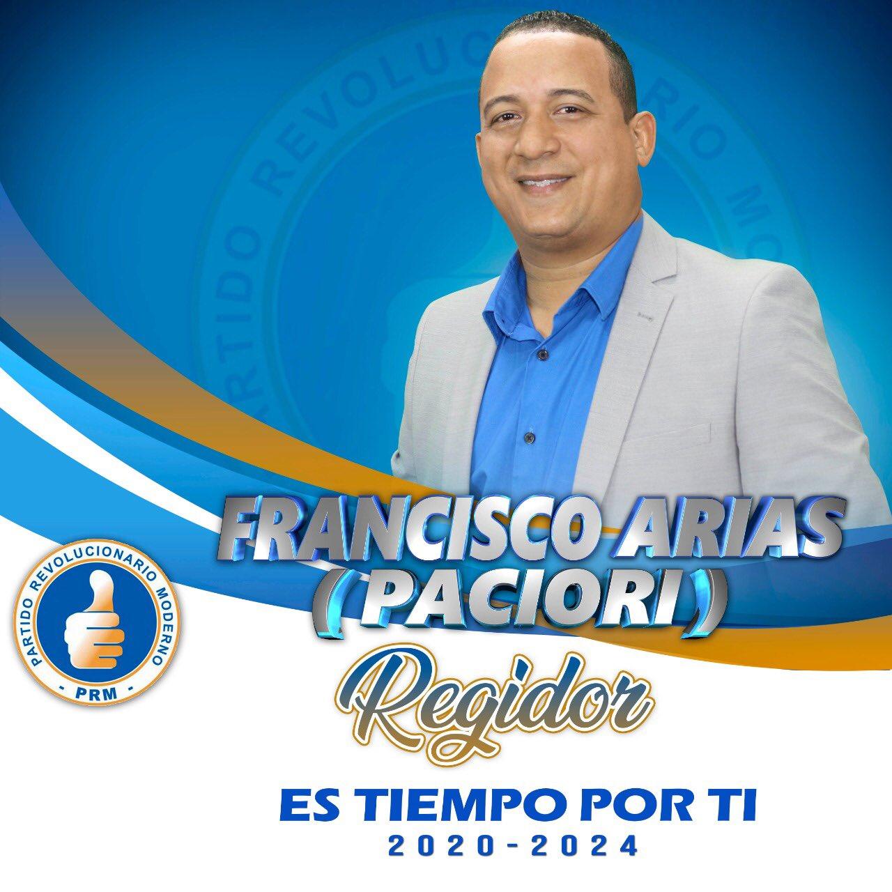 PACIORI, REGIDOR, ALCALDIA DE BARAHONA 2020-2024