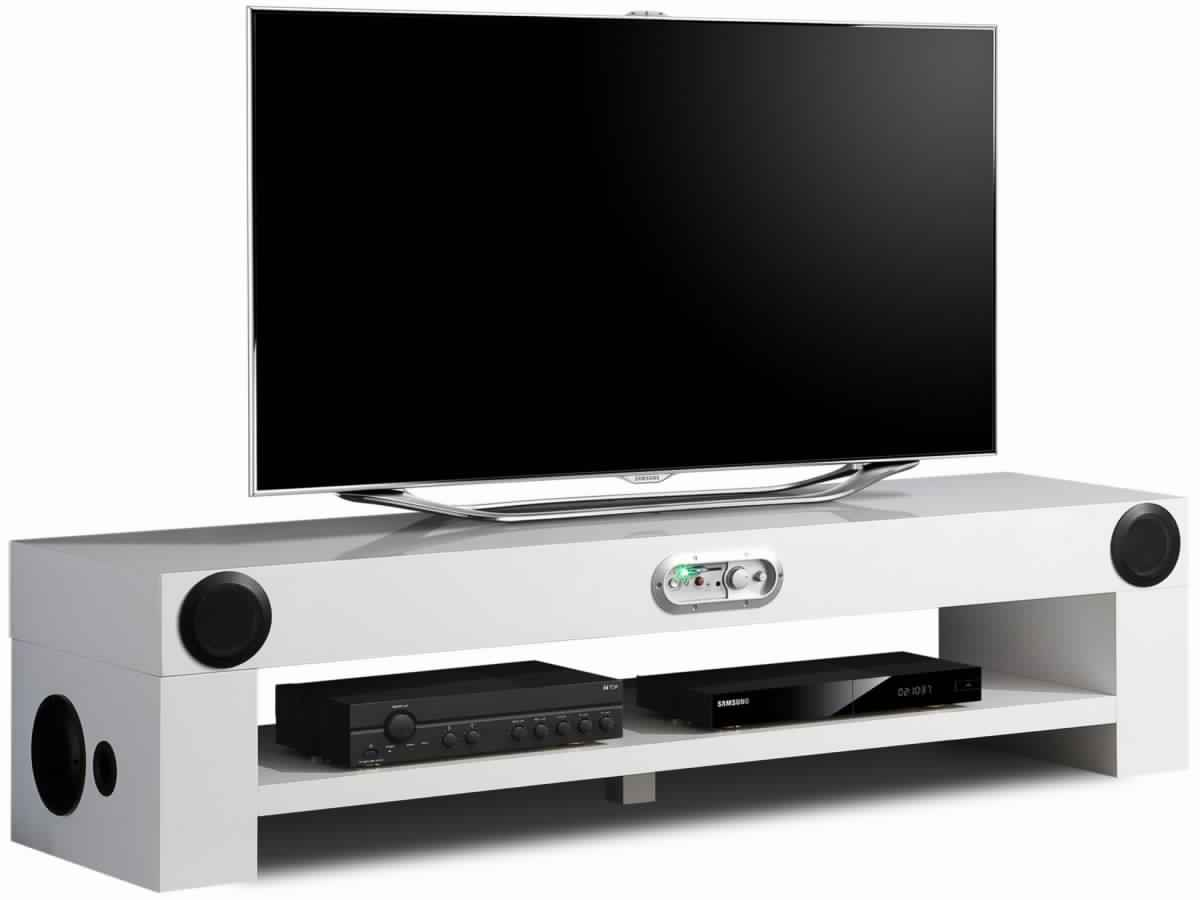 Meuble Tele Hifi Integre Maison Design Wiblia Com # Soundvision Meuble Tv Hifi