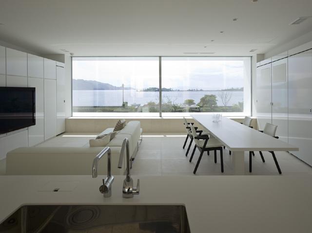 Dise o de interiores y decoracion casa minimalista dise o for Casas prefabricadas de diseno minimalista