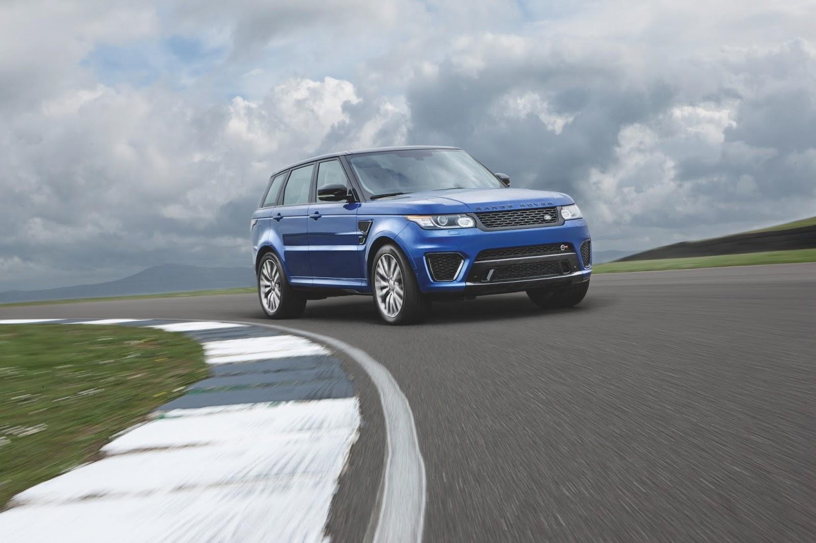 New Range Rover Sport SVR