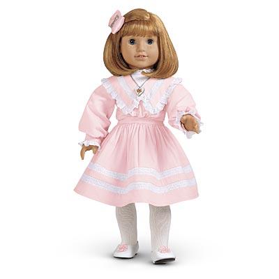My little doll corner pre mattel american girl samantha
