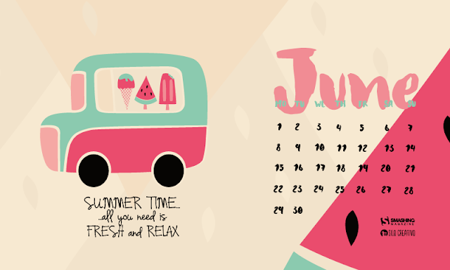 Wallpaper June 2015 Designed by Verónica Valenzuela