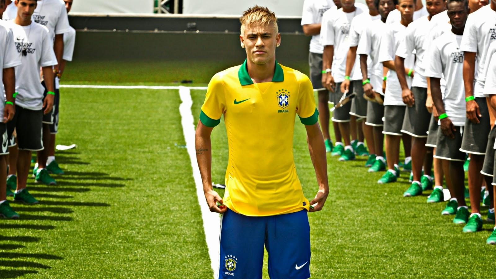نيمار البرازيلي باستايل جديد لشعره