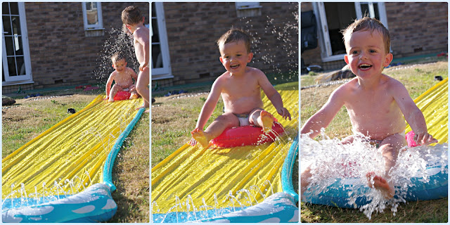 Loving the garden this summer with a wave rider