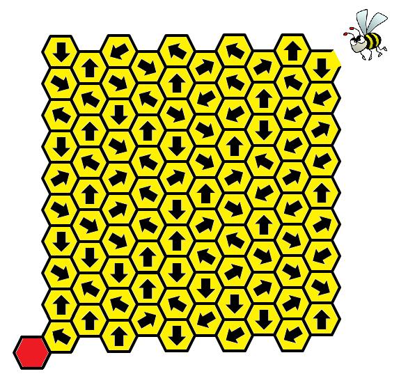 γρίφος πεισματάρα μέλισσα