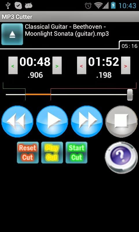 MP3 Cutter Pro v2.6