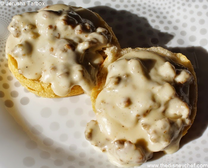 Sausage Gravy from Whispering Canyon Cafe on thedisneychef.com