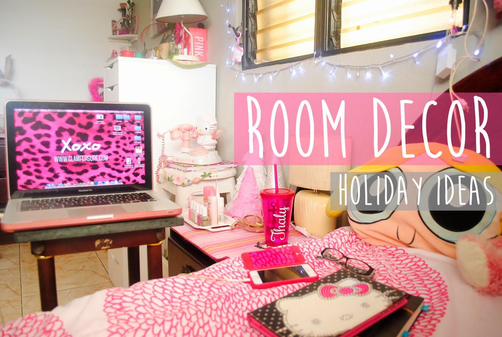 Glam fer sure room decor holiday giy decora tu - Decora tu habitacion online ...