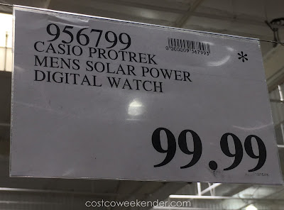 Deal for the Casio Protek Solar Power Digital Watch (PRG270-1) at Costco