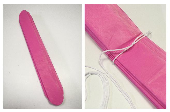 Bulub pompones de papel de seda - Como se hacen los pompones ...