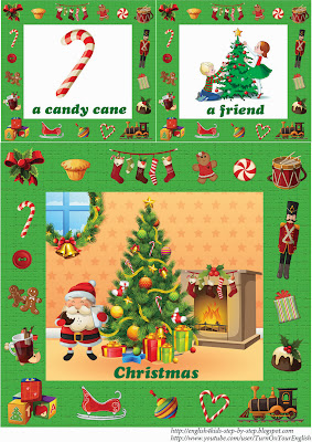 christmas flashcards for kids
