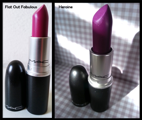 MAC Cosmetics - Flat Out Fabulous ed Heroine Lipsticks