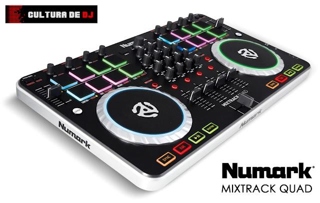 Controlador Numark Mixtrack Quad