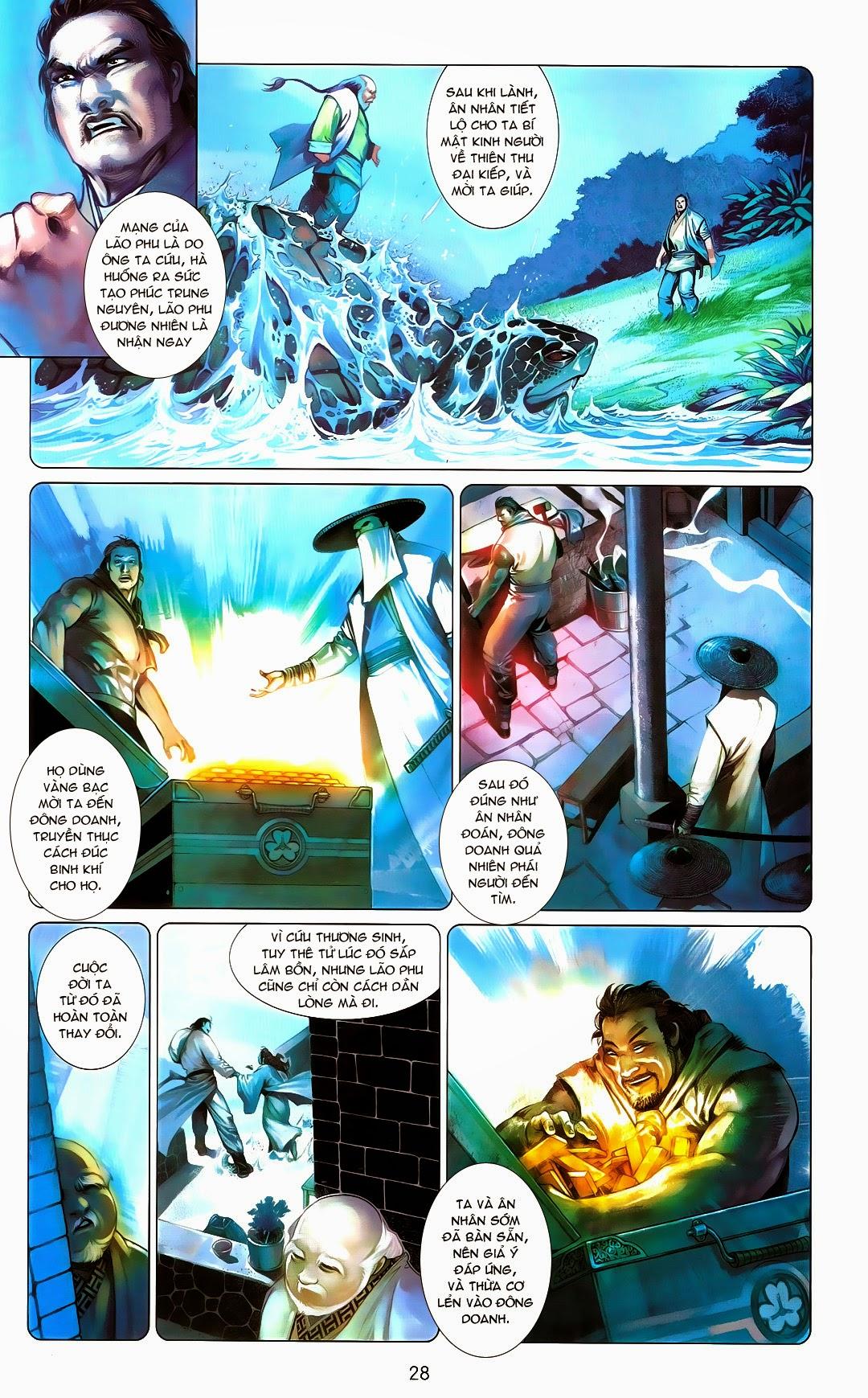 Phong Vân chap 670 Trang 27 - Mangak.info