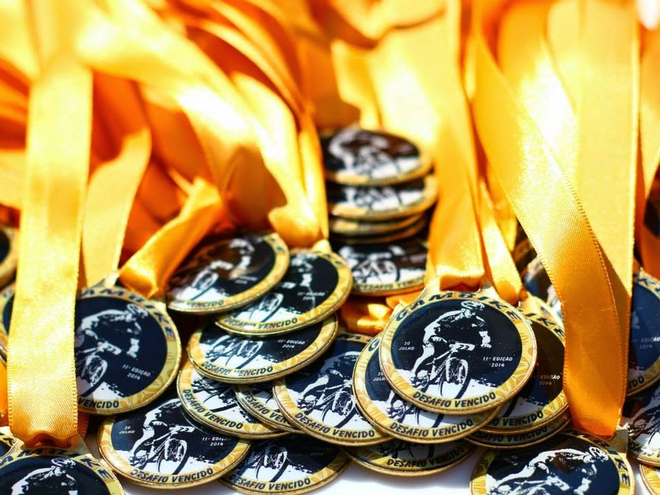 XI Gambike 2014 - Medalhas de Participação