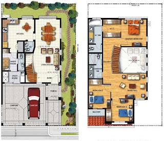 Duplex Plan 7 Townhomes Floor Plan at Prominence II at Brentville International Community