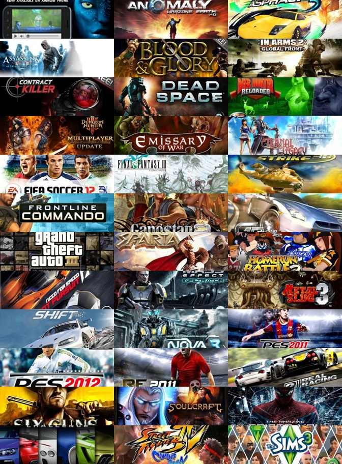 Jual DVD Game Android HD QVGA (240 x 320)