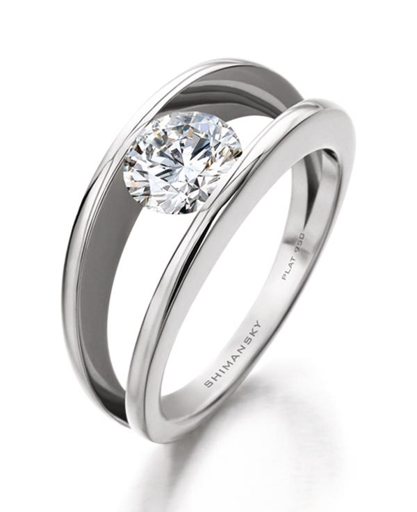 African Wedding Ring 40 Vintage Diamond Ring Shimansky Jewelers