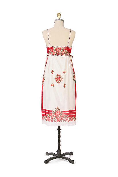Anthropologie Berry Bowl Dress