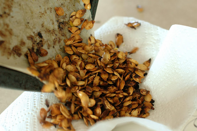 DIY pumpkin seeds