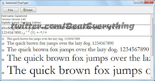 How to install fonts in Windows 7 or 8?