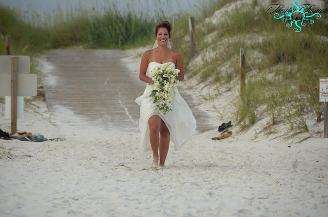 St. Andrew's is a beautiful location for a barefoot beach wedding in Florida