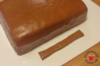 suitcase birthday cake diy