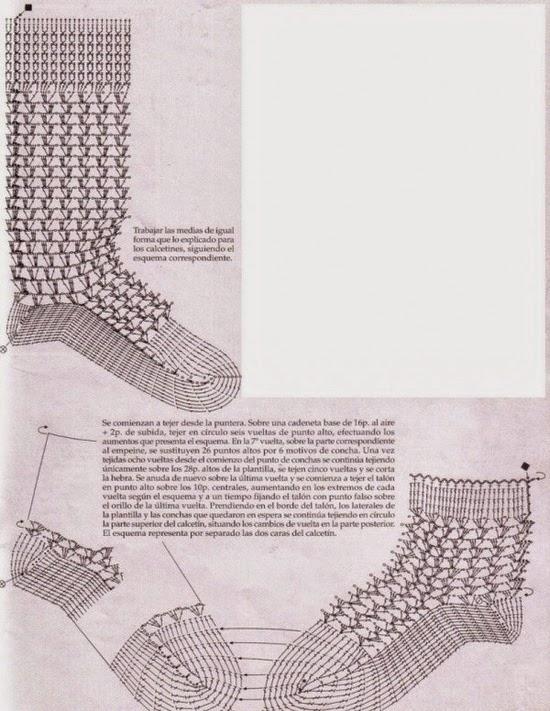 Calcetas , botines y zapatillas. | Crochet desde El Tabo.