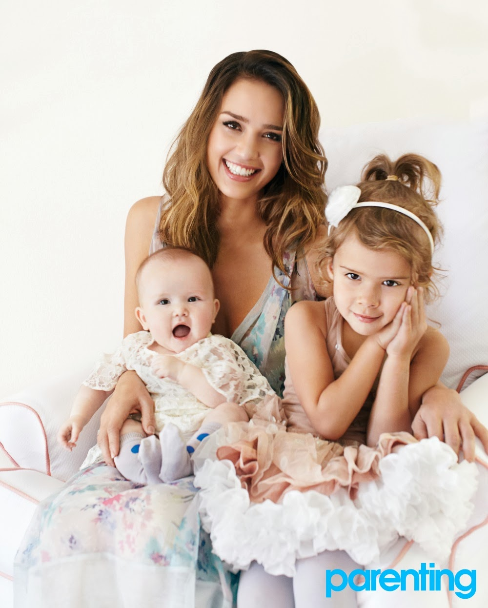Jessica Alba with Her Kids