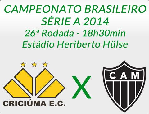 Criciúma x Atlético MG