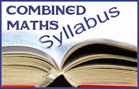 Combined Maths Syllabus