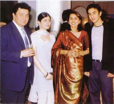 Ranbir Kapoor family