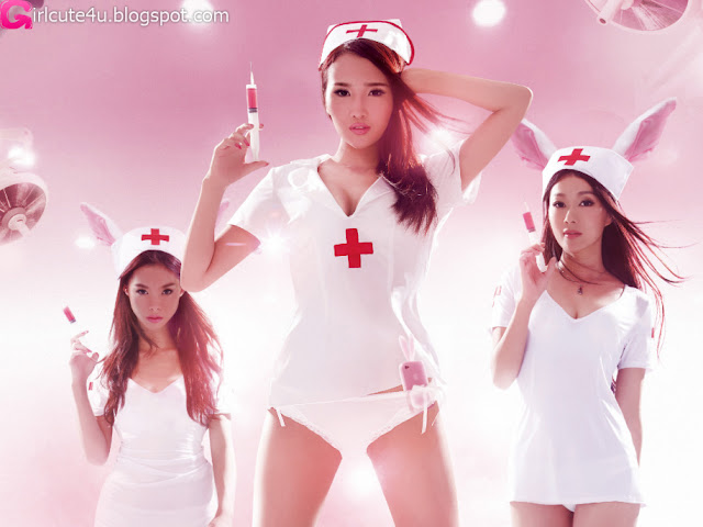 Chinese-Nurses-04-very cute asian girl-girlcute4u.blogspot.com