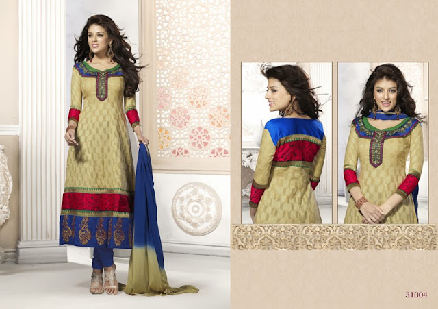 Cotton jacquard Dress Material, Manufacturer of unique material, Buy Online Cotton Dress With Embroidered