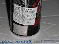 Băutură răcoritoare americană carbogazoasă cu aromă de cireșe