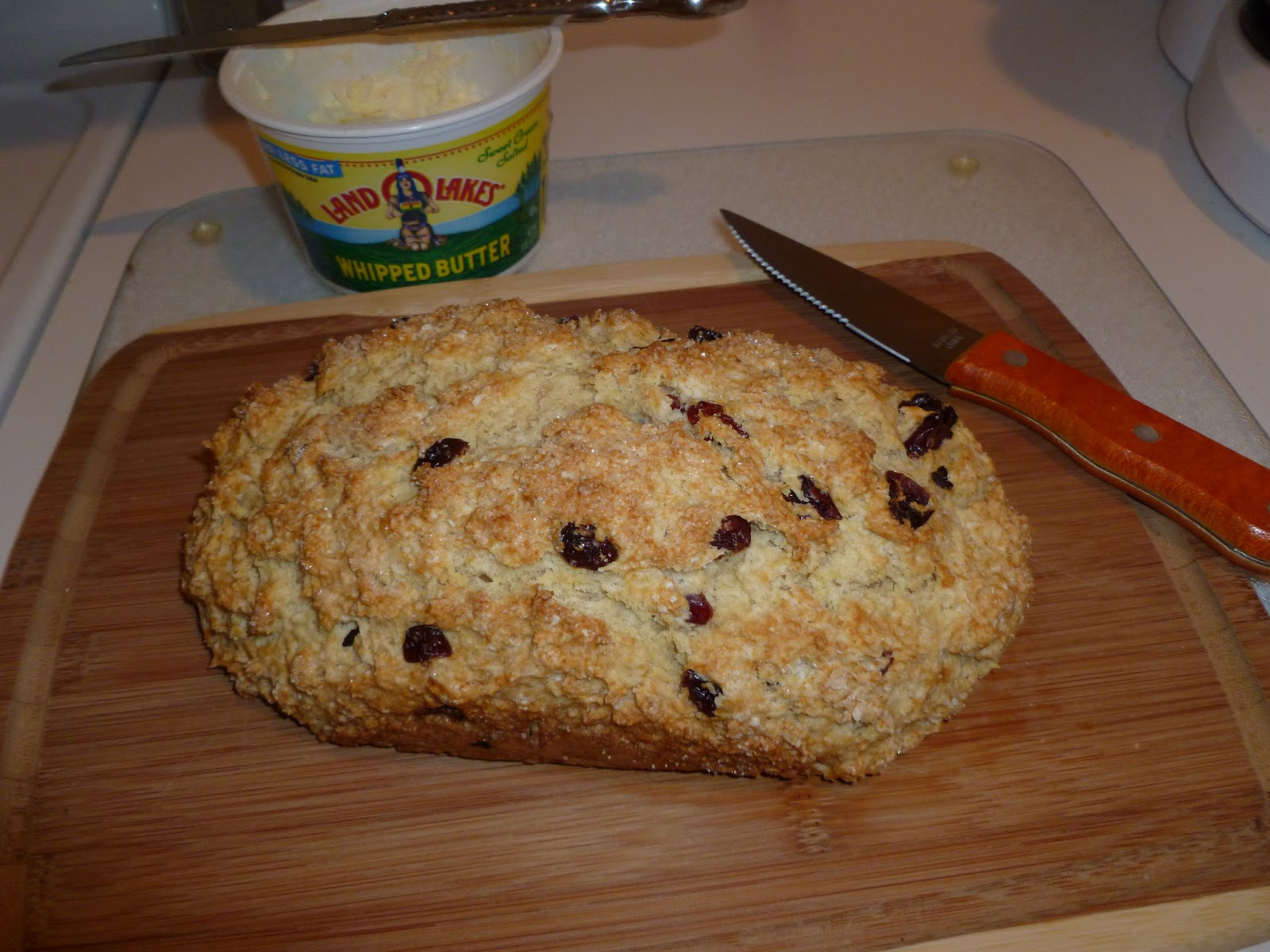 I Like to Bake and Cook!: Irish Soda Bread! with dried ...