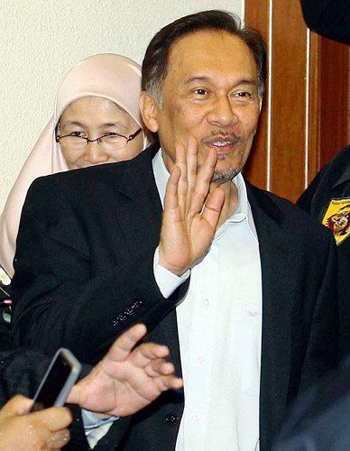 gambar mahkamah Sekitar Perhimpunan Bebas keputusan kes liwat Anwar Ibrahim 901