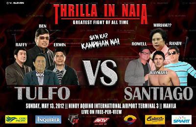 Thrilla in NAIA (Tulfos vs Santiagos)